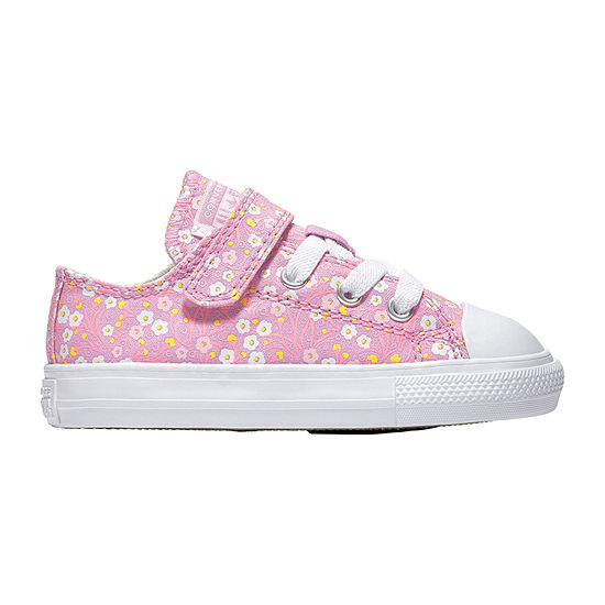 Converse Ctas Ditsy Floral Toddler Girls Sneakers