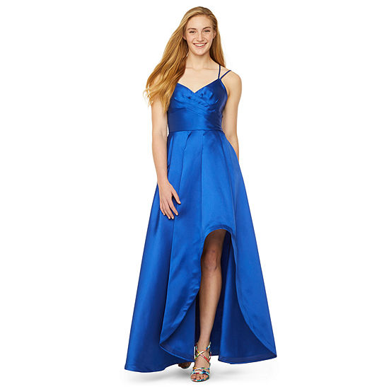 My Michelle Prom Sleeveless High-Low Ball Gown-Juniors