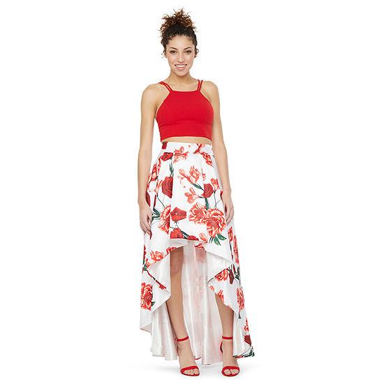 My Michelle-Juniors Prom Sleeveless Dress Set