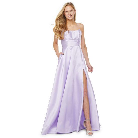 B. Smart Sleeveless A-Line Dress-Juniors