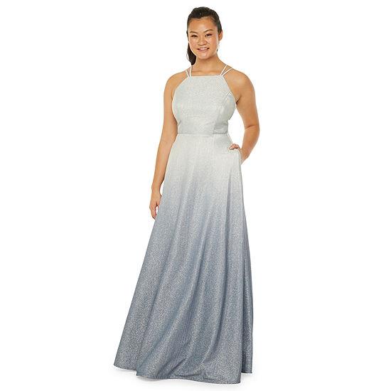Trixxi Sleeveless Ball Gown-Juniors
