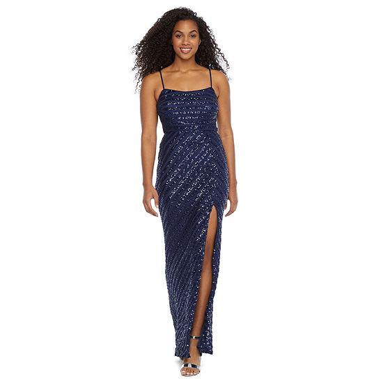 Trixxi-Juniors Sleeveless Sheath Dress