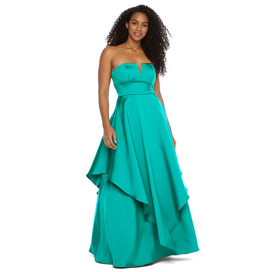 Trixxi Sleeveless Ball Gown-Juniors
