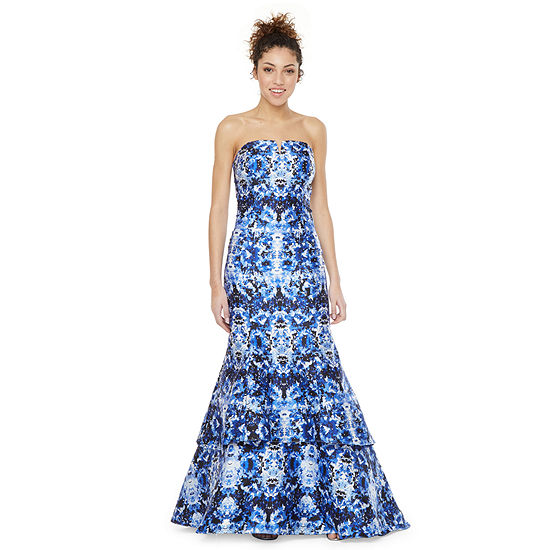 XCape-Juniors Strapless Mermaid Dress