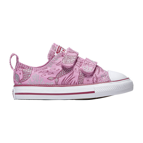 Converse Converse Ctas 2v Underwater Party Toddler Girls Sneakers