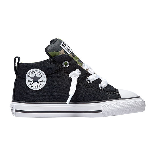 Converse Chuck Taylor All Star Street Mid Camo Toddler Boys Sneakers