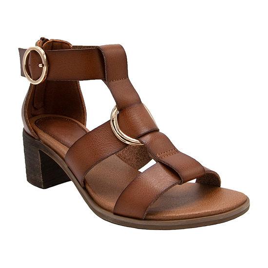 Sugar Womens Harah Heeled Sandals