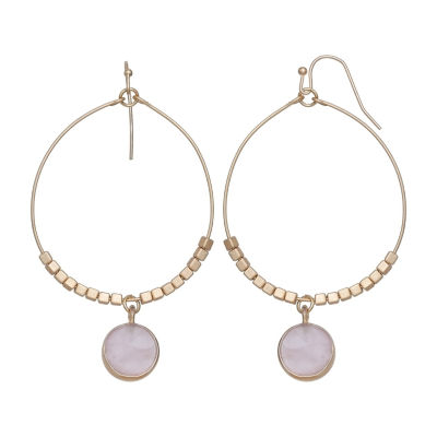a.n.a Pink Drop Earrings
