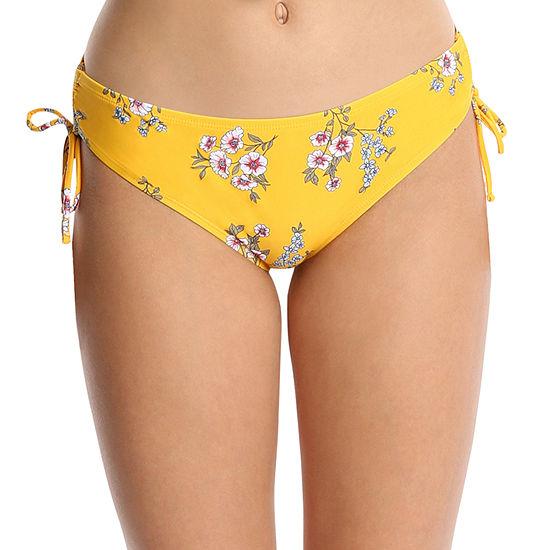 Wallflower Floral Bikini Swimsuit Bottom Juniors