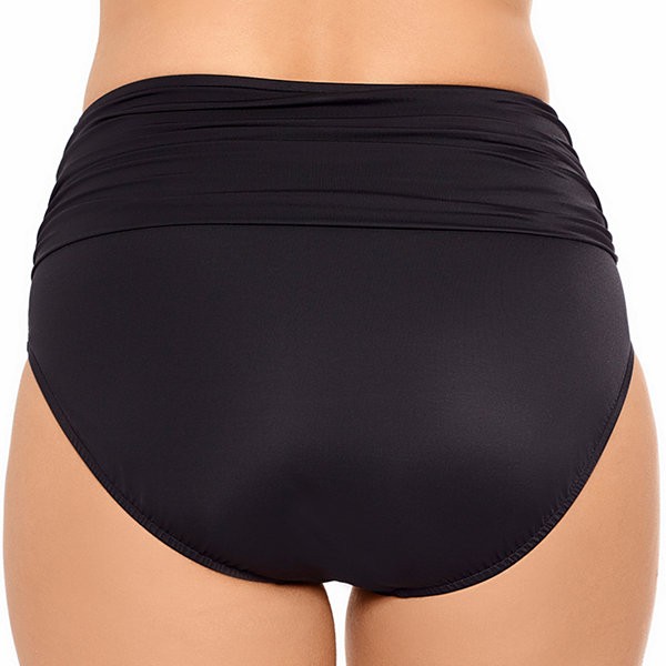 Vanishing Act By Magic Brands Slimming Control Womens Brief Bikini Swimsuit Bottom