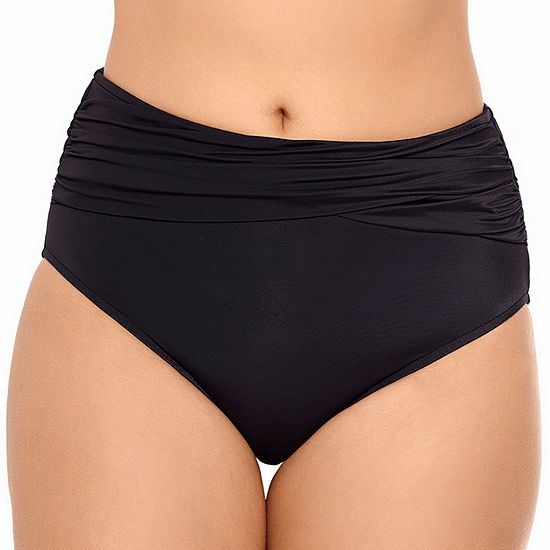 Vanishing Act By Magic Brands Slimming Control Brief Swimsuit Bottom