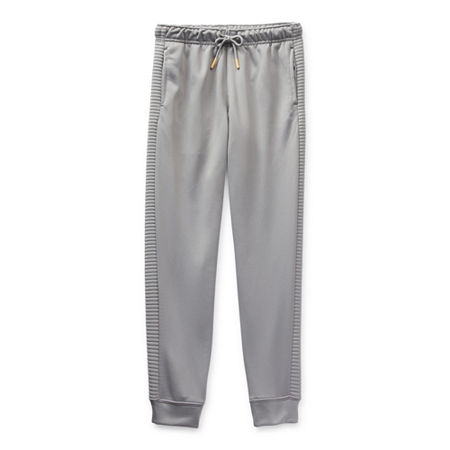 Xersion French Terry Little & Big Boys Cuffed Jogger Pant, X-small (6-7) , Gray