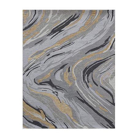 Amer Rugs Carrara AB Hand-Tufted Wool Rug, One Size , Gray