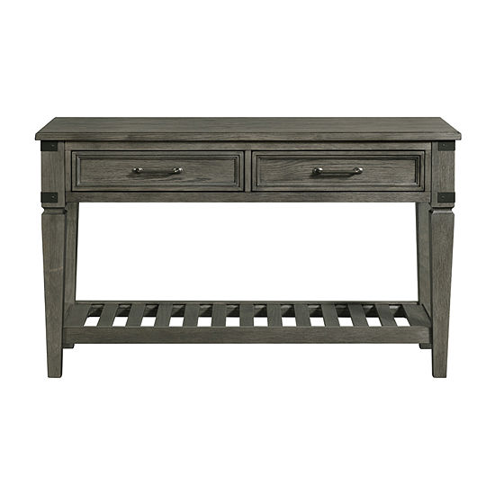 Intercon Incorporated Foundry Living Room Collection 2-Drawer Console Table