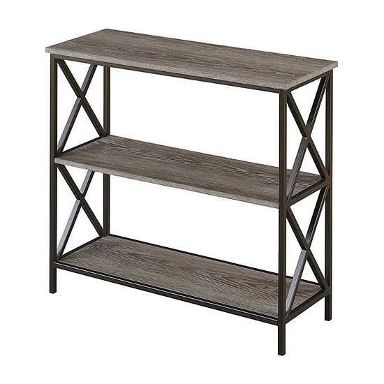 Tucson Home Office Collection 3-Tier Bookcase