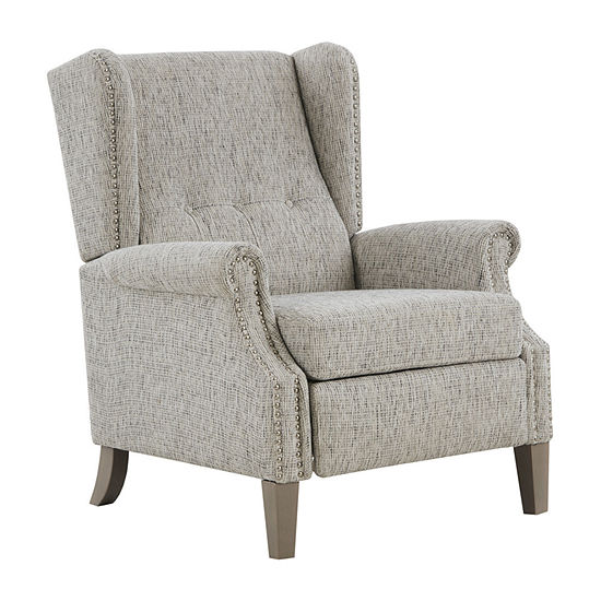 Madison Park Parque Living Room Collection Roll-Arm Recliner