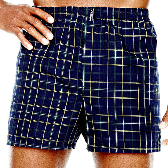 Jockey® 2 Pair Full Cut Woven Boxer - Big