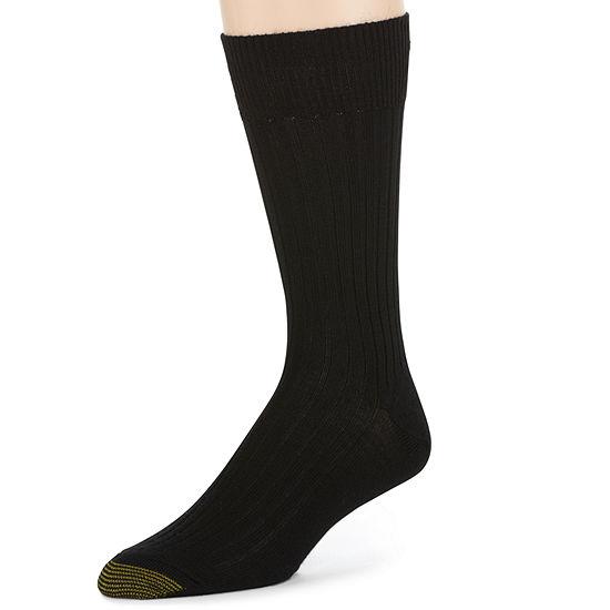 Gold Toe® 3-pk. Windsor Wool-Rich Crew Socks