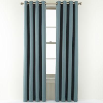 Royal Velvet® Carmen Grommet-Top Blackout Curtain Panel