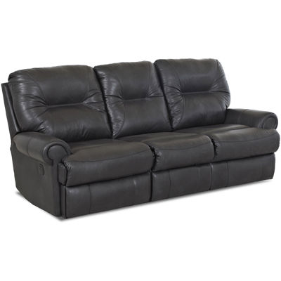 Brinkley Faux-Leather Power Reclining Motion Sofa