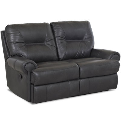 Brinkley Leather Power Reclining Motion Loveseat