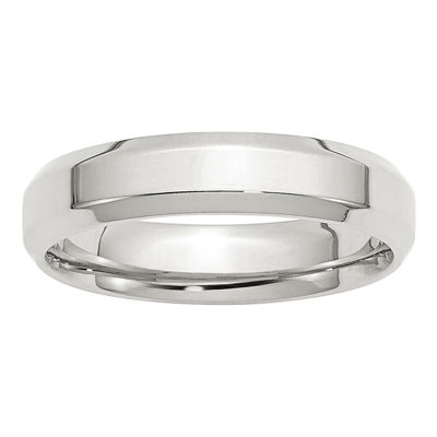 Personalized Womens 5mm Sterling Silver Band