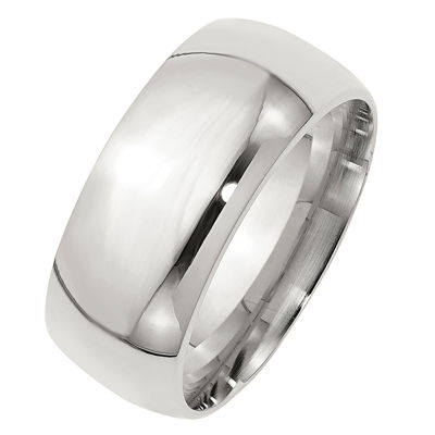 Personalized Mens Sterling Silver Band