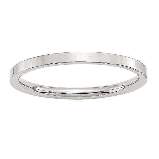 2MM Sterling Silver Wedding Band