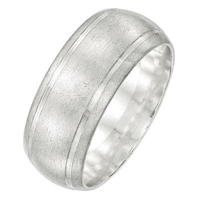 Personalized Womens Sterling Silver Band