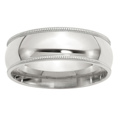 Mens 7MM Wedding Band