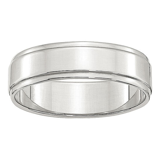 Personalized Womens 6MM Wedding Band