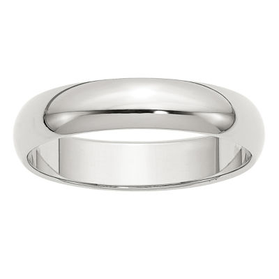Personalized Mens 5mm Sterling Silver Band