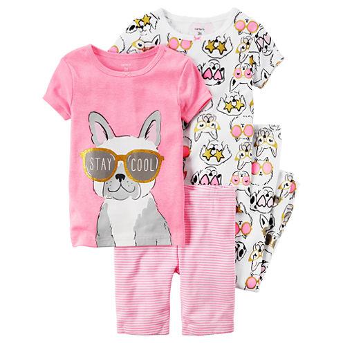 Carter's Pajama Pants-Toddler Girls