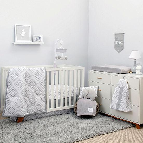 Nojo 8-pc. Modern Crib Bedding Set