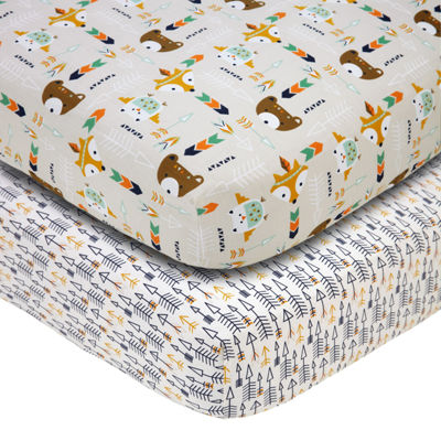 Nojo 2-pack Crib Sheet