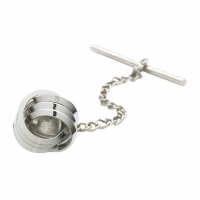 Love Knot Rhodium-Plated Tie Tack