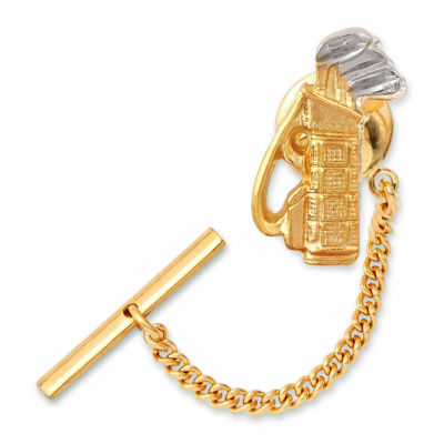 Golf Clubs Tie Tack
