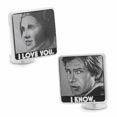 Star Wars™ I Love You I Know Cuff Links