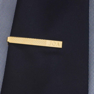 Personalized Cornwall Pattern Tie Bar