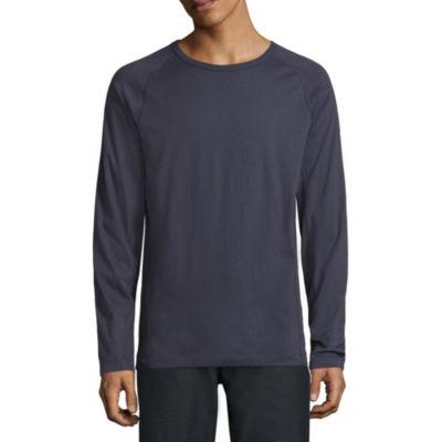 Msx By Michael Strahan Long Sleeve Crew Neck T-Shirt
