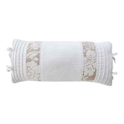 Croscill Classics Nellie White Boudoir Decorative Pillow