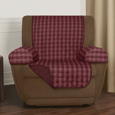 Maytex Buffalo Check Reversible Recliner Pet Cover
