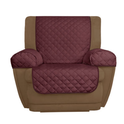 Maytex Smart Cover® Buffalo Check Reversible Microfiber 3 Piece Recliner  Chair Furniture Pet Cover Protector