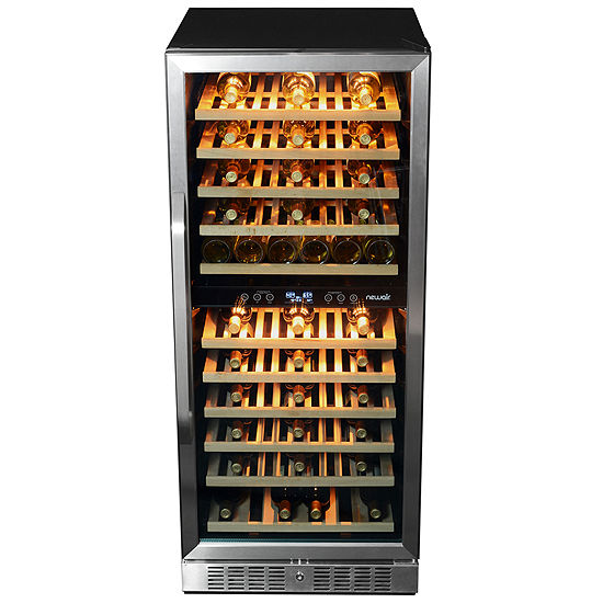 NewAir AWR-1160DB Premier Gold Series 116 Bottle Built-in Compressor Wine Cooler