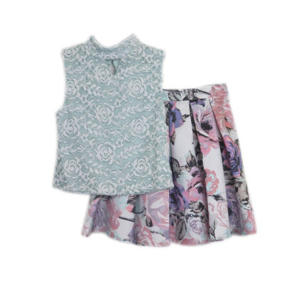 Lilt 2-pack Skirt Set Big Kid Girls