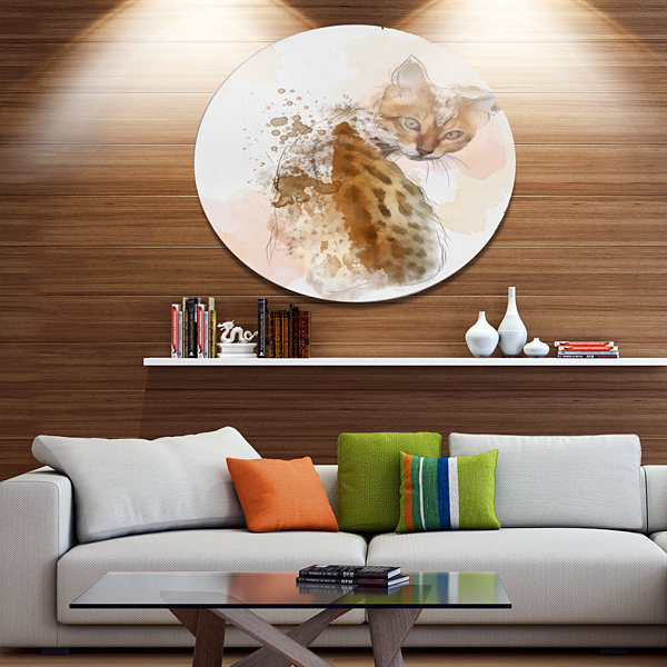 Designart Animals + Insects Metal Wall Art