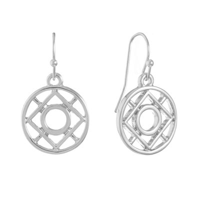Liz Claiborne Round Drop Earrings