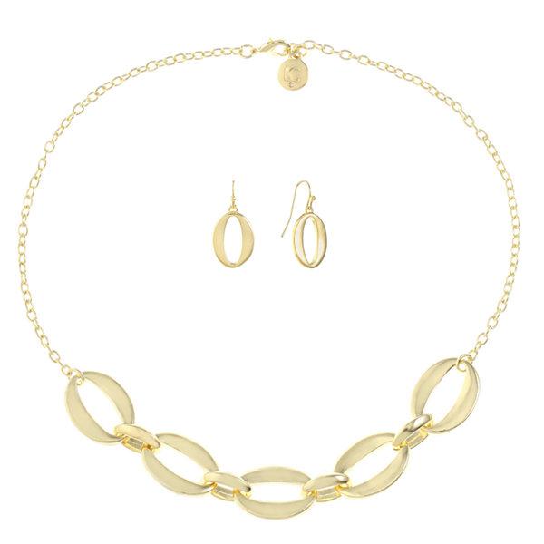 Liz Claiborne Liz Claiborne Womens 2-pc. Gray Jewelry Set FAhJUp