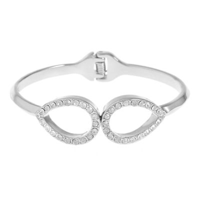 Liz Claiborne Womens Clear Bangle Bracelet