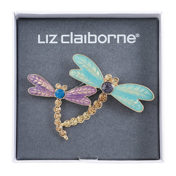 Liz Claiborne Purple Pin